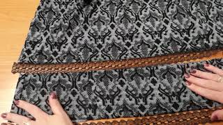видео Короткое вязаное свадебное платье