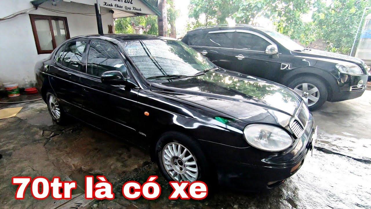 70tr là có xe Daewoo Leganza đời 2001, máy 2.0 số sàn, ghế điện, điều hòa auto | 0966680444