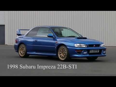 Lot 304 1998 Subaru Impreza 22b Sti Youtube