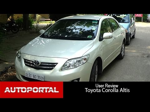 Toyota Corolla Altis User Review - 'dynamic looking' - Autoportal