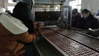 YX300 JELLY CANDY HARD CANDY 2 IN 1 PRODUCTION LINE TESTING VIDEO FOR USA CUSTOMERS