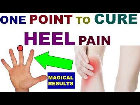 Sujok Therapy For Heel Pain/Acupressure Points For Heel ...