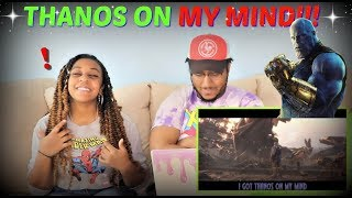 """Azerrz """"Black Panther - Thanos On My Mind (YNW Melly Parody)"""" REACTION!!"""