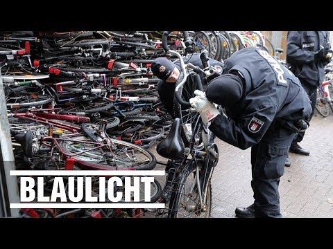 Fahrrad-Diebstahl in der Hansestadt - Groß-Razzia in Hamburg