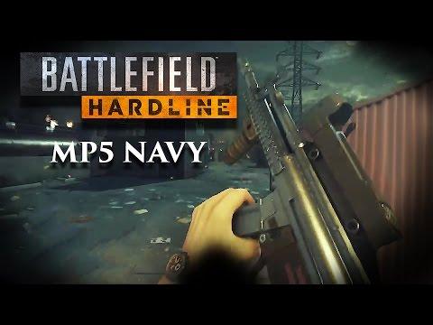 Battlefield Hardline: MP5 Navy 89Kills