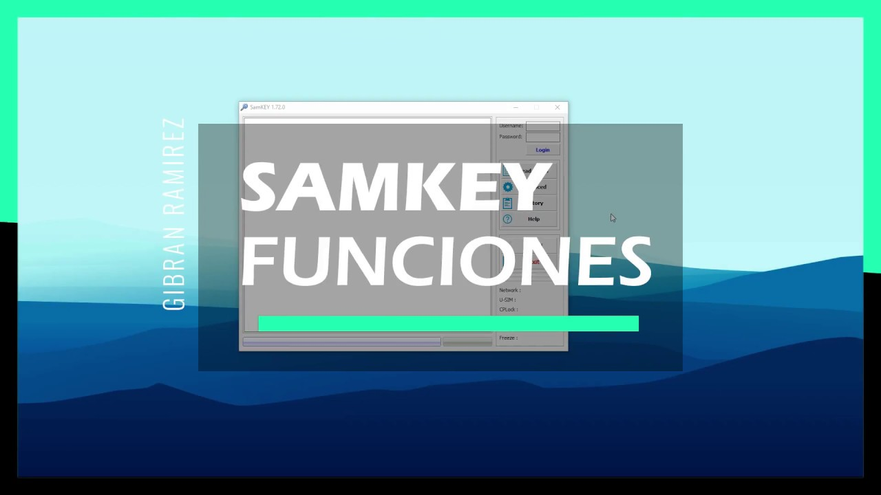 Como usar SAMKEY para liberar samsung parte 1   soportebox