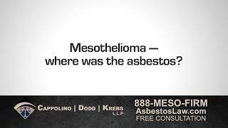 Asbestos Attorney Richard Dodd: No Matter Where Asbestos Exposure Occurred, We Can Help