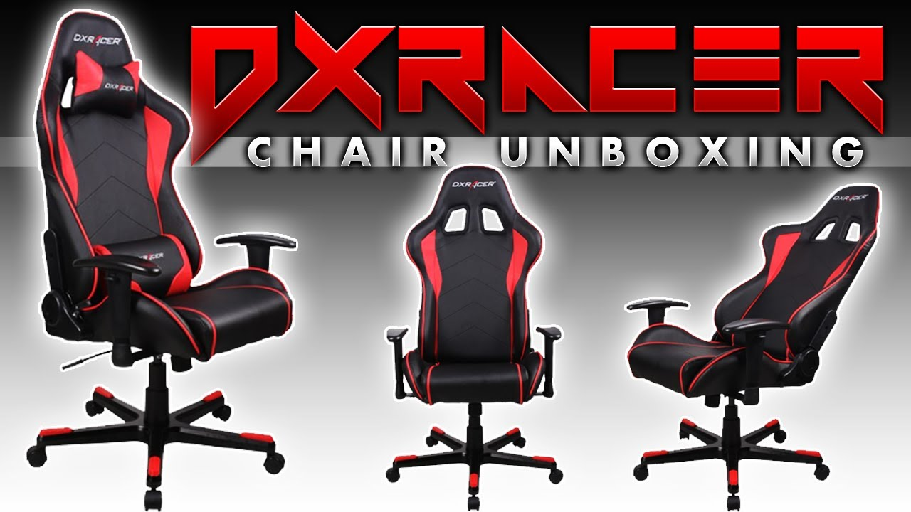 DXRacer ComputerGaming Chair UNBOXiNG  YouTube