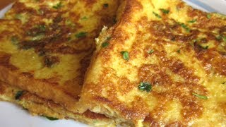 Bread Omelette | Home Made Bread omlet Recipe