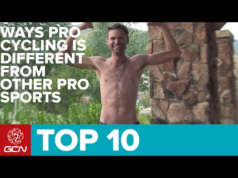 Top 10 Ways Pro Cycling Is Different From Other Pro Sports