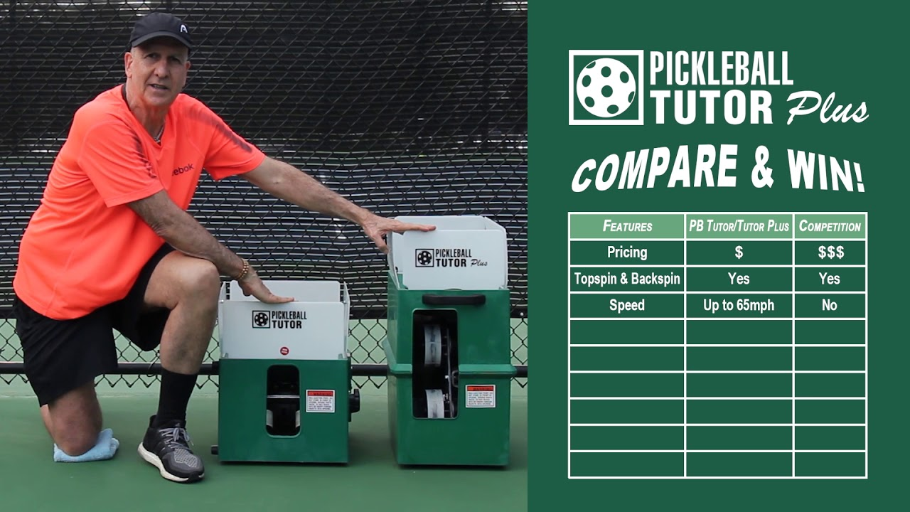 Pickleball Tutor Plus Features
