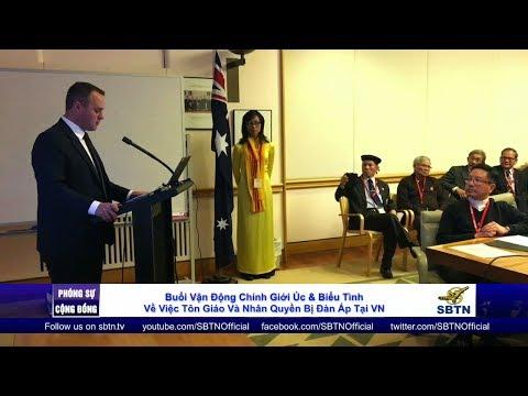 PHÓNG SỰ CỘNG ĐỒNG: Vận động chính giới Úc về tôn giáo và nhân quyền bị đàn áp tại Việt Nam