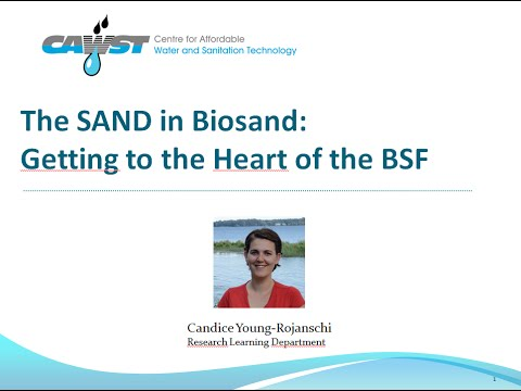 Webinar: The SAND in Biosand: Getting to the Heart of the Biosand Filter