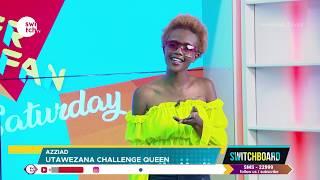 DJ Flinch wants Azziad to dance the utawezana song on TV - See her reaction