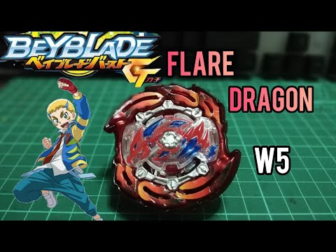 Unboxing+Review | Beyblade Flare Dragon (fake) Brand W5