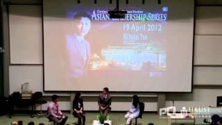 Nicholas Tse Gives A Talk At Hkust 謝霆鋒香港科技大學講座