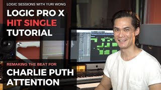 Stock Logic Pro Remake: Charlie Puth's Attention [Tutorial with Standard Logic Instruments]