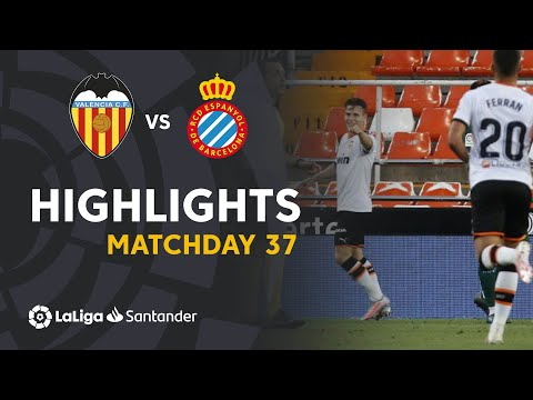 Valencia Espanyol Goals And Highlights