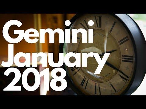 Gemini - A Special Project - January 2018 Tarot Forecast