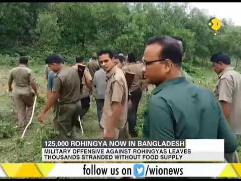 125,000 Rohingya now in Bangladesh; Myanmar blocks all UN aid