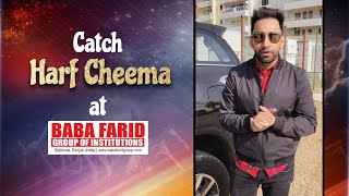 Catch Harf Cheema live at Vibgyor 2k19 | Baba Farid Group of Instiutions