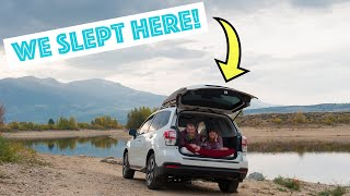 Twin Lakes Colorado: Wę took our Subaru Forester car camping! (Day 1)