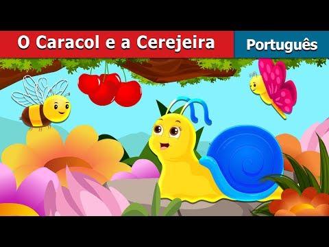 O Caracol E A Cerejeira   Contos De Fadas   Portuguese Fairy Tales