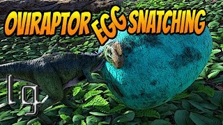 ARK: Survival Evolved - How to Snatch Eggs With Oviraptor