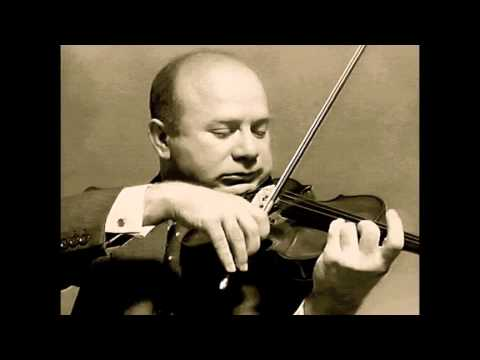 Mischa Elman plays Mendelssohn's Violin Concerto