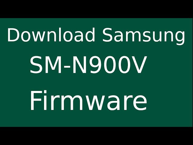 How To Download Samsung Galaxy NOTE 3 SM-N900V Stock