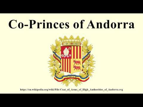 Co-Princes of Andorra