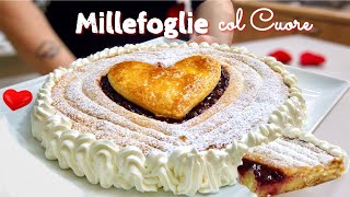 MILLEFOGLIE COL HEART ❤️ Quick and easy