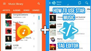 How to use STAR MUSIC TAG EDITOR
