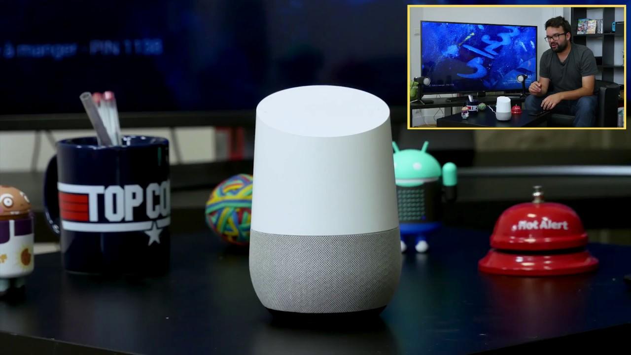 Download Google Home : le test complet avec des démos en français