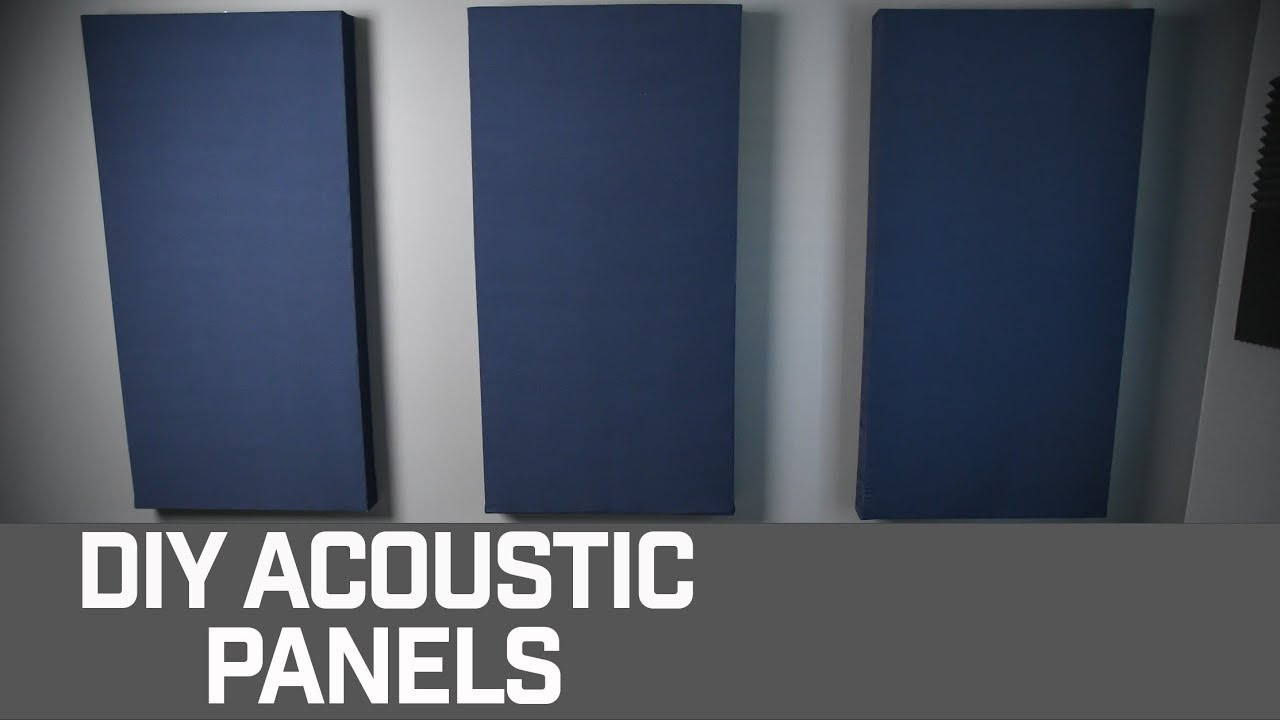 DIY Acoustic Panels : 11 Steps (with