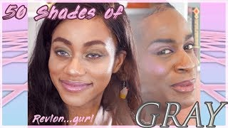 TRYING THE A̶S̶H̶Y̶ REVLON COLLECTION | Get Ashy With Me feat. Timaloveslemons♡