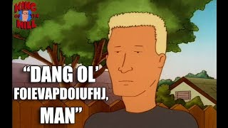 Best of Boomhauer on King of the Hill - Funniest Quotes Video