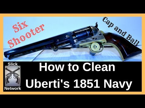 How To Clean Cap And Ball Revolvers