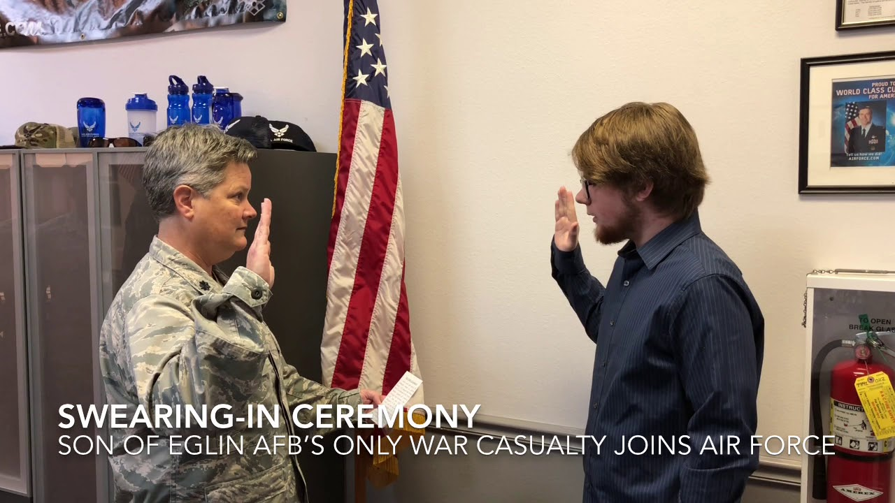 Air Force basic training graduate to carry flight flag of