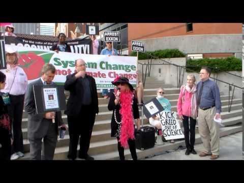 Exxonmobil Protest Speakers 05/28/2014