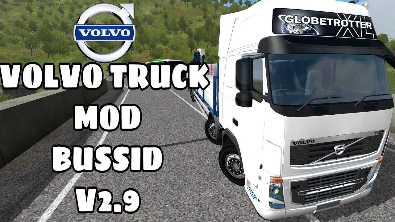 BUSSID V2 9|Havy Volvo Truck mod|Indian Volvo Truck Mod For Bus Simulator  Indonesia|