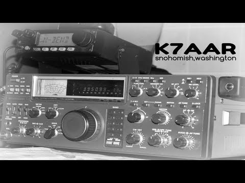 Kenwood TS-930S, ((20 Meters) shot with a Canon T3I.