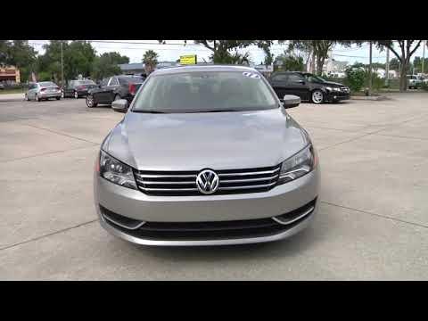 2013 Volkswagen Passat Used West Melbourne,FL Brevard Value Motors, LLC