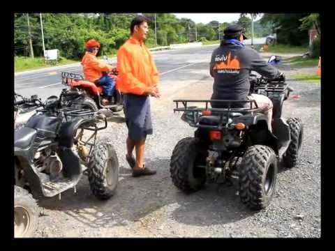 ท่องไปบนหน้าแผ่นดิน ตอน  ขับรถ ATV จ.นครนายก