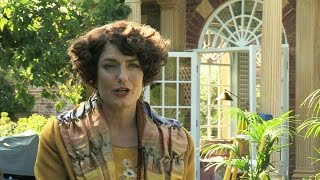 Anna Chancellor unwraps Lucia - Mapp and Lucia - BBC One Christmas 2014