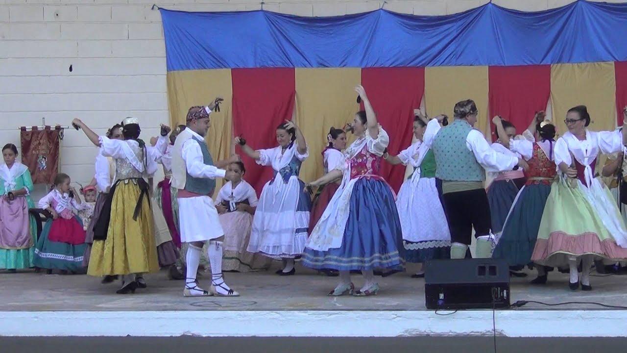 Grupo de Rondalla y Danses Els Fallers Puerto Sagunto 9 Octubre 2015
