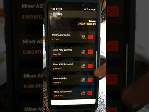 Mobile phone bitcoin mining