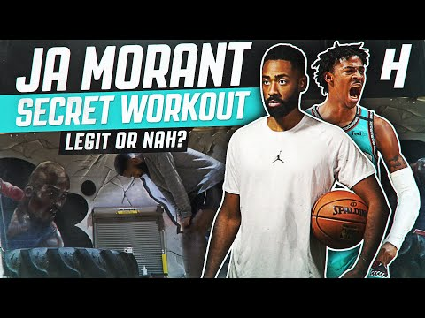 TRYING JA MORANT'S SECRET WORKOUT! DID MY VERTICAL INCREASE?