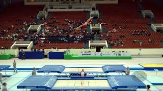 BAILEY Nathan (GBR) - 2018 Trampoline Worlds, St. Petersburg (RUS) - Qualification Trampoline R1