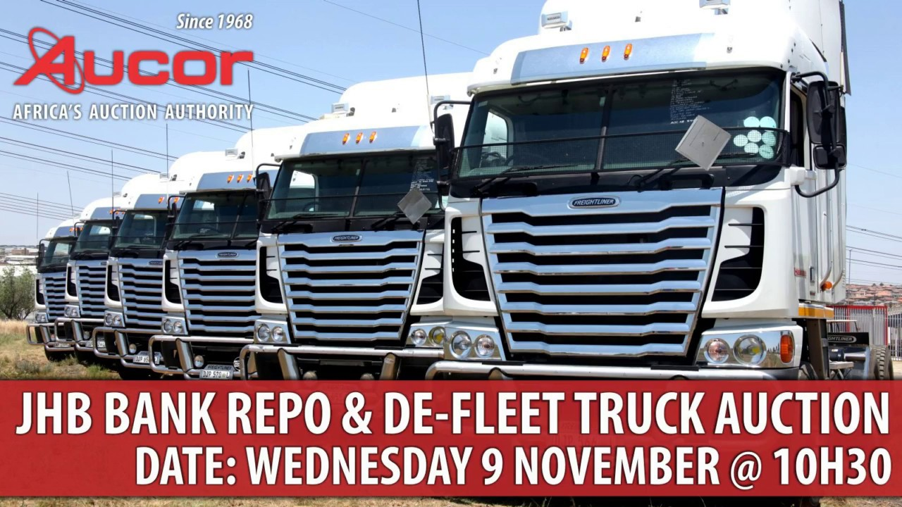 Aucor Truck Auction 9 November - YouTube